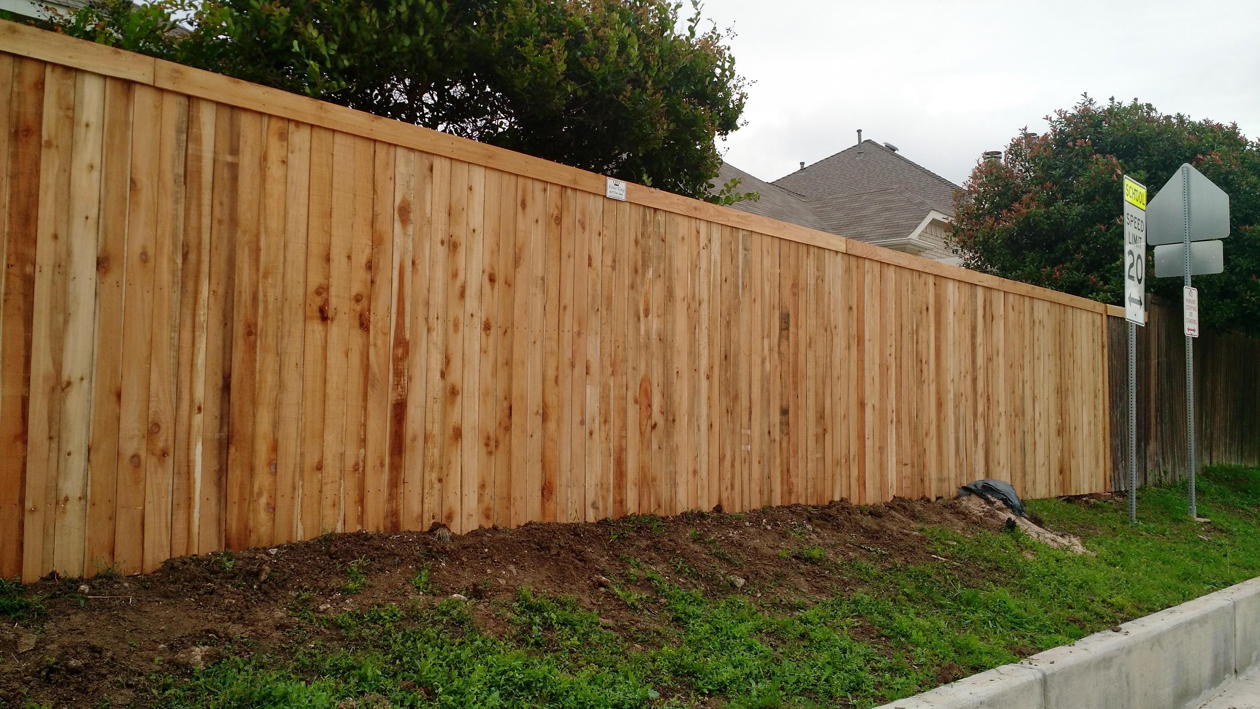 new fences fence king. Black Bedroom Furniture Sets. Home Design Ideas