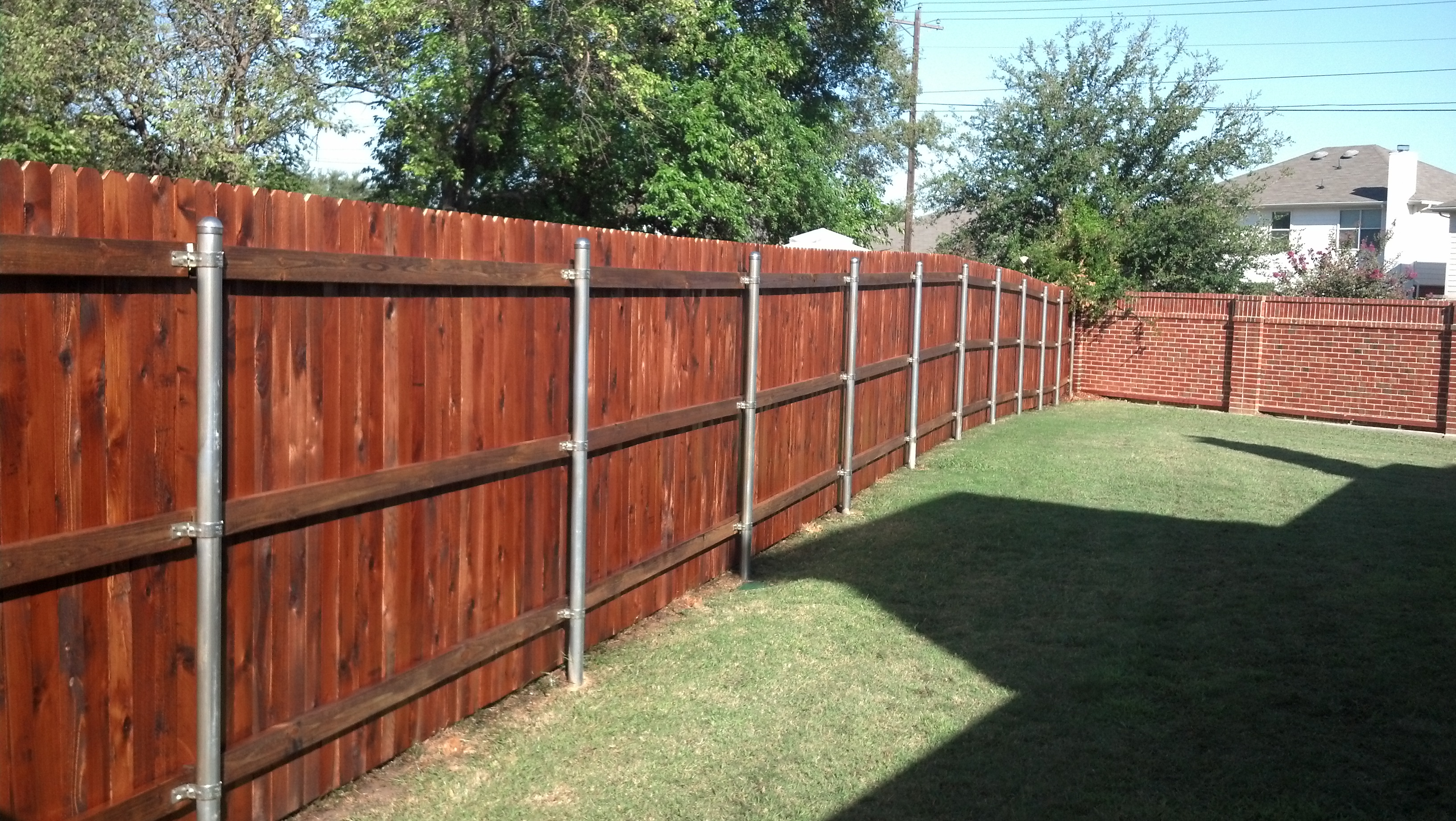 Fence Staining Fence King
